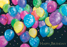 Balloon Bunch of Wishes Happy Birthday Cards